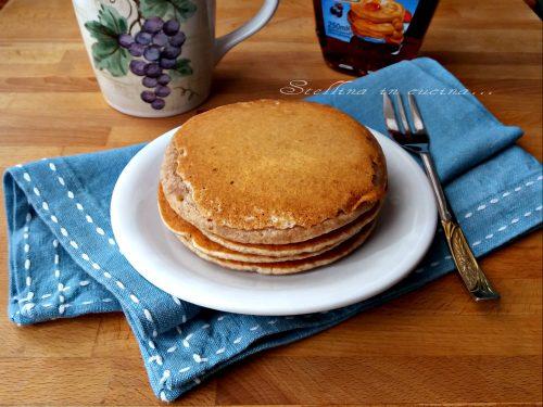 Pancake integrali senza uova