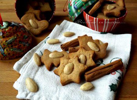 Biscotti alla cannella con mandorle