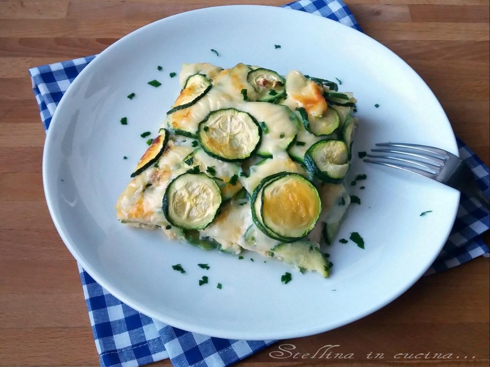 Sformato di zucchine e scamorza