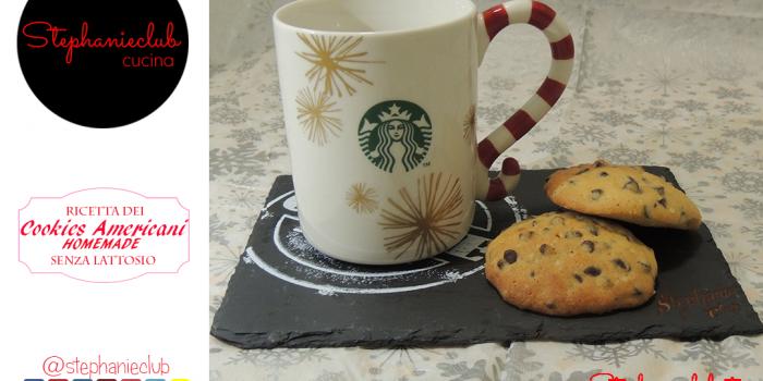 American Cookies lactose free – senza lattosio – ricetta di Natale
