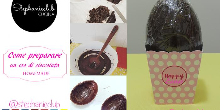 Come preparare un uovo di cioccolata homemade