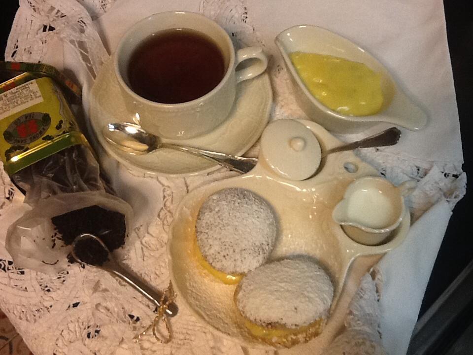 Pasticcini alla crema di lime per Miss Marple