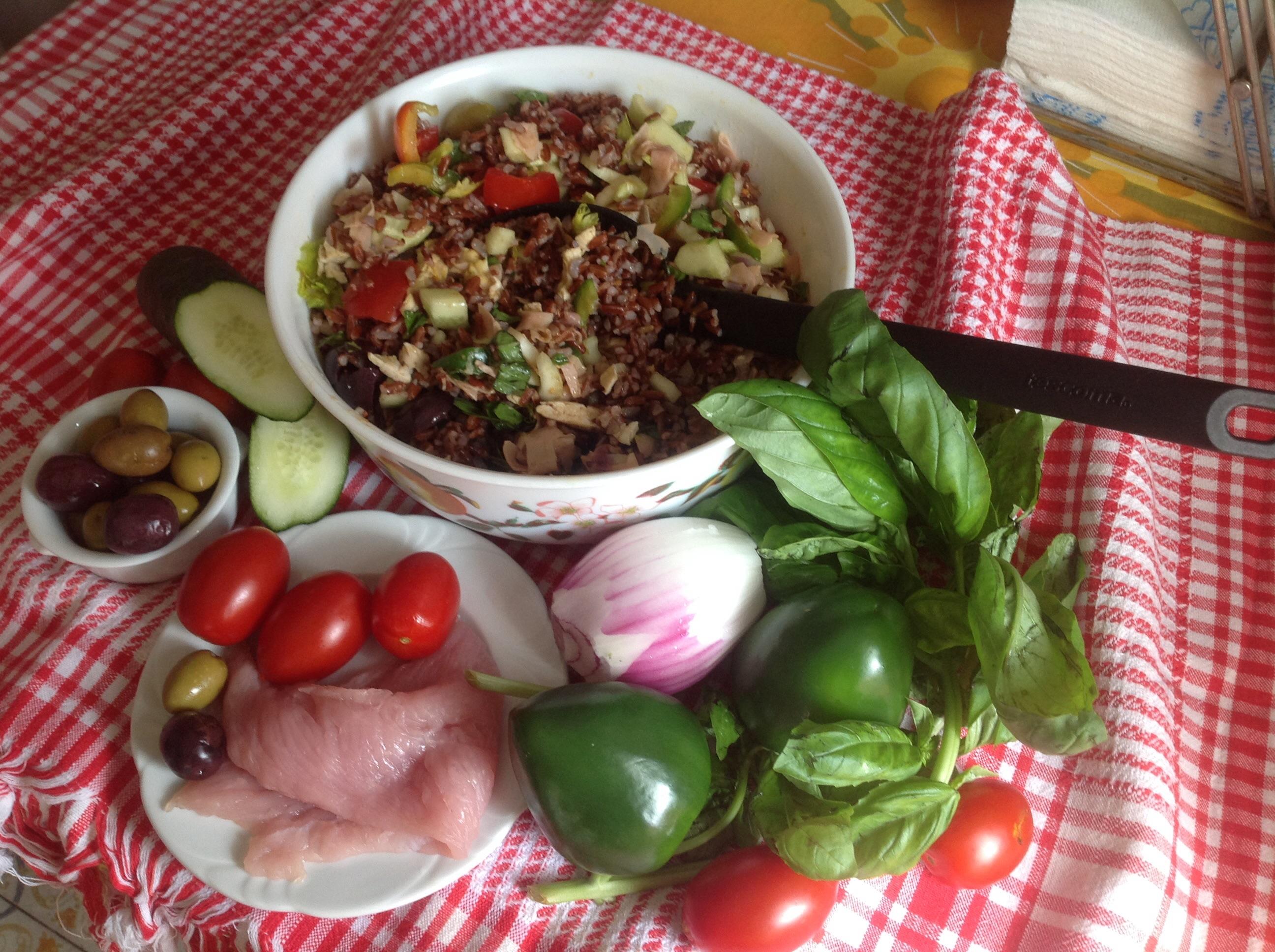 Insalata di riso rosso ( potente regolatore del colesterolo)