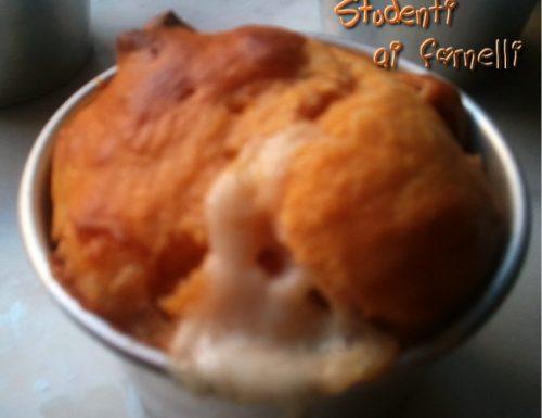Muffin wurstel e scamorza
