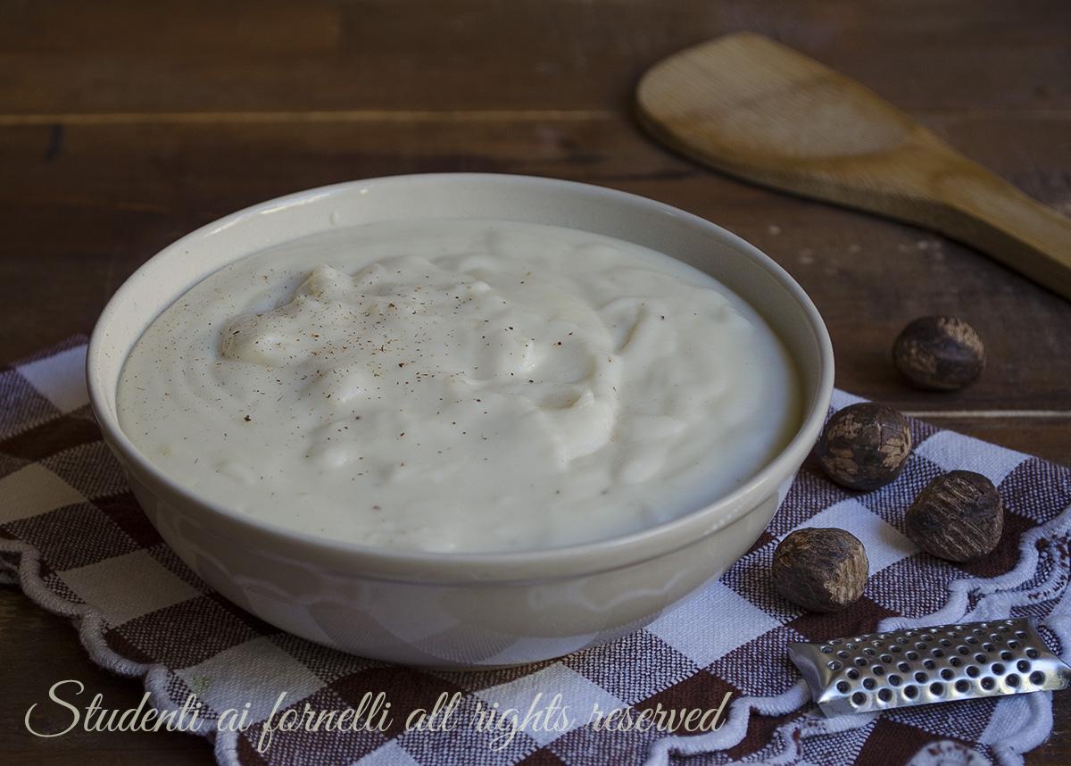 besciamella fatta in casa ricetta per pasta al forno lasagna
