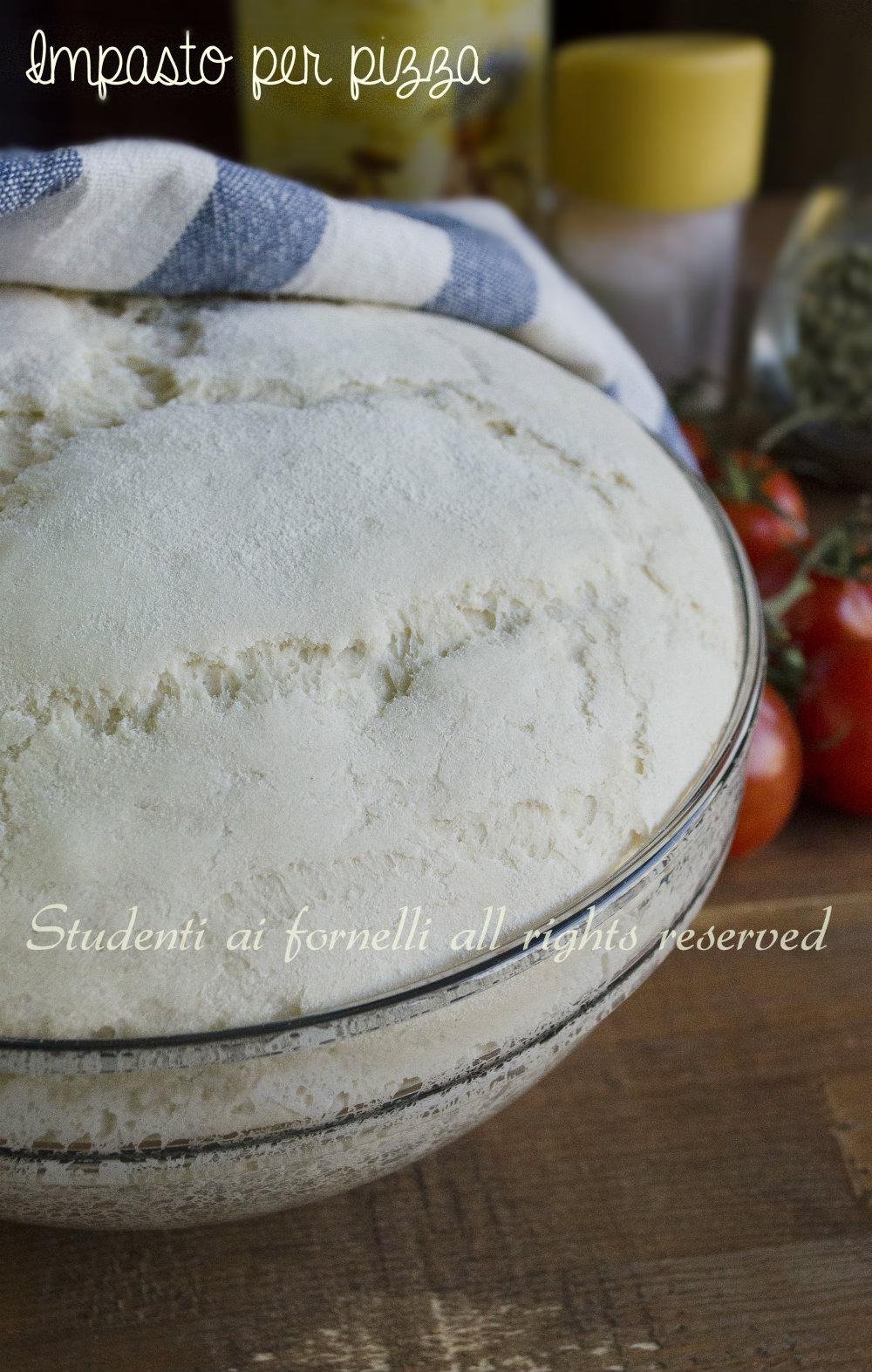 Ricetta Impasto Pizza Digeribile.Impasto Per Pizza Fatta In Casa Digeribile Con Poco Lievito