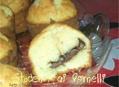 Muffin mascarpone e Nutella