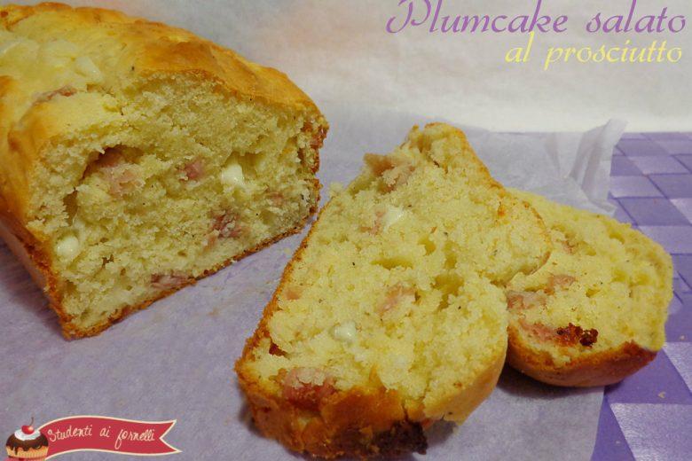 Plum Cake salato prosciutto speck e provola