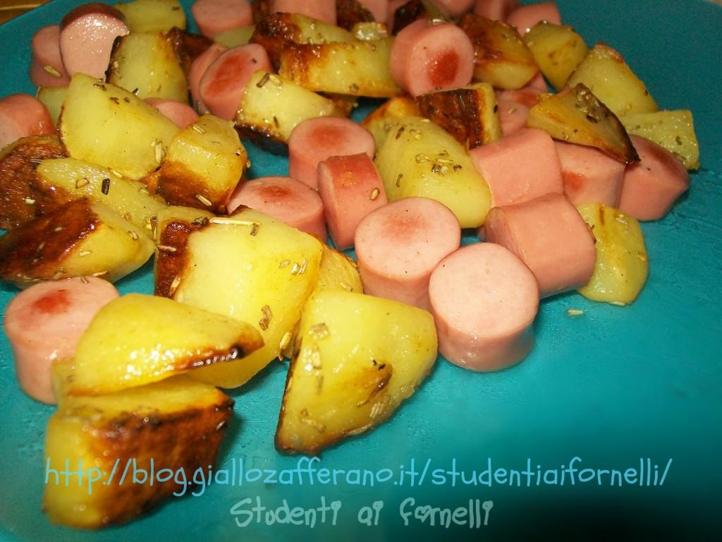 wurstel e patate ricetta funny