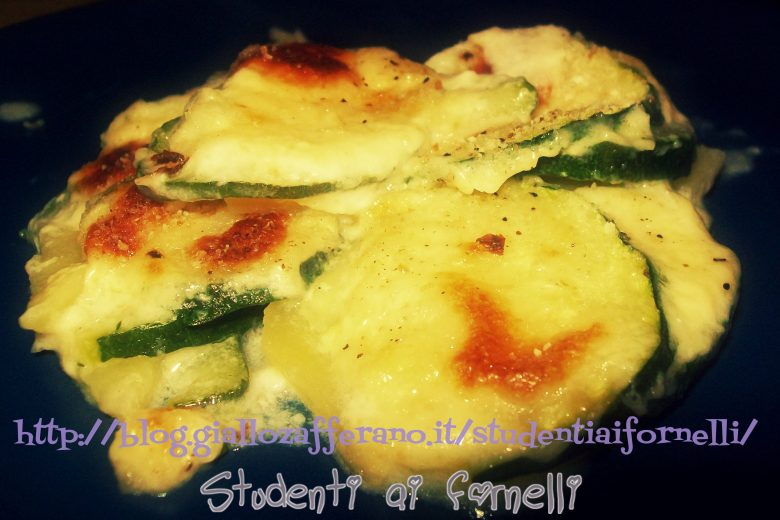 Tortino di patate e zucchine   Ricetta light