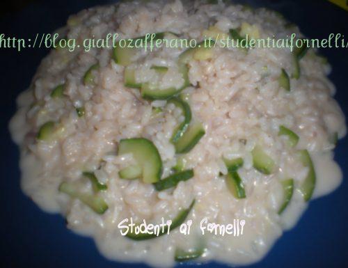 Risotto cremoso con zucchine | Ricetta sprint