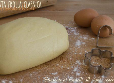 PASTA FROLLA Ricetta PERFETTA per Crostate e Biscotti (NON si Rompe)