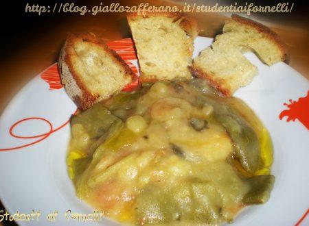 Zuppa di fagiolini e patate | Ricetta genuina