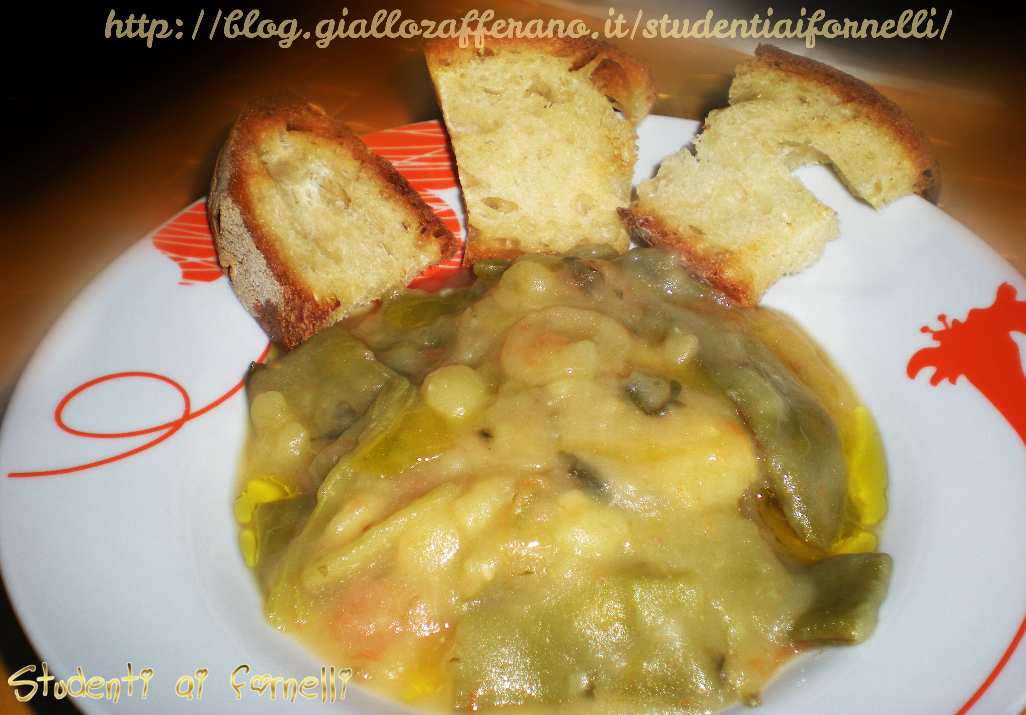 zuppa di fagiolini e patate