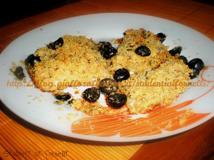 filetti di pesce impanati ricetta