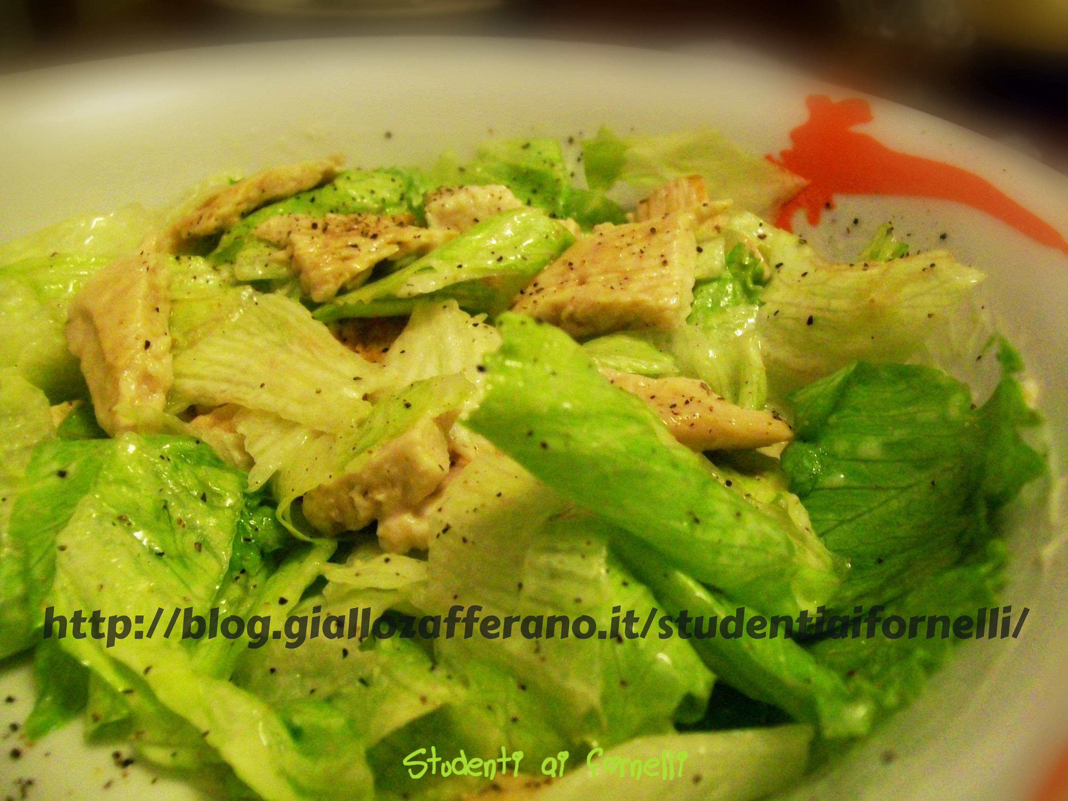 insalata di pollo ricetta sfiziosa