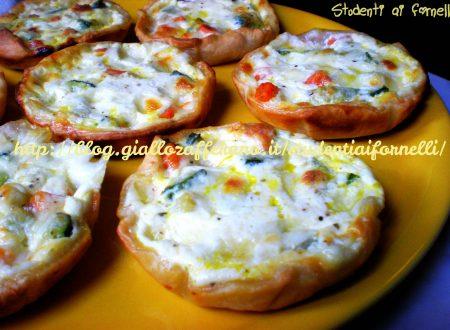 Mini quiche di zucchine | Ricetta finger food