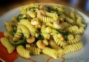pasta con zucchine e gamberetti ricetta perfetta Ricette con zucchine di stagione