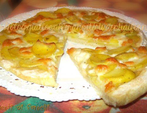 Pizza con le patate | Ricetta focaccia soffice