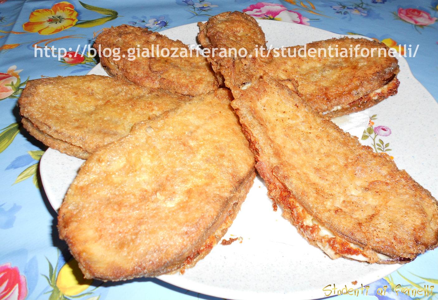 melanzane con prosciutto e provola ricetta sfiziosa