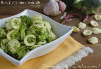 orecchiette con i broccoli ricetta primo facile e veloce