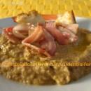 crema di lenticchie con bacon croccante ricetta