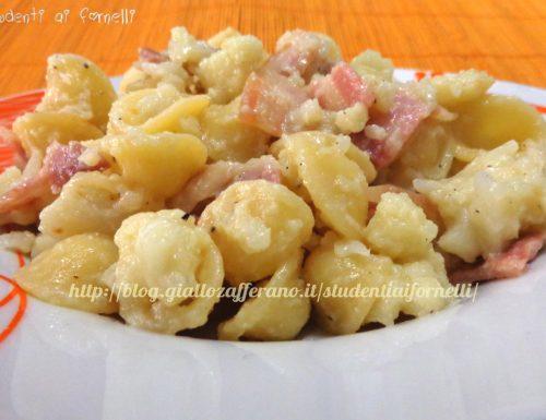 Orecchiette con cavolfiore e pancetta