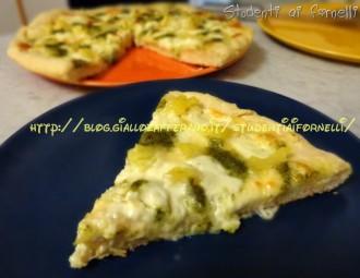 pizza soffice stracchino patate e pesto ricetta