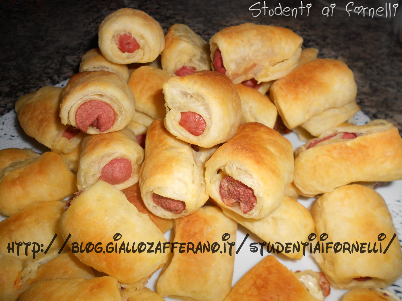 Ben noto Rustici con wurstel | Ricetta per buffet | Compleanni | Aperitivo VC66