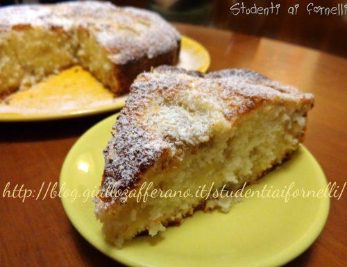 Torta soffice cocco e banane