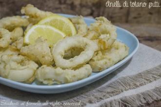 anelli fritti di totano fritti leggeri ricetta facile antipasto di pesce