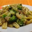 Casarecce con broccoli e tonno