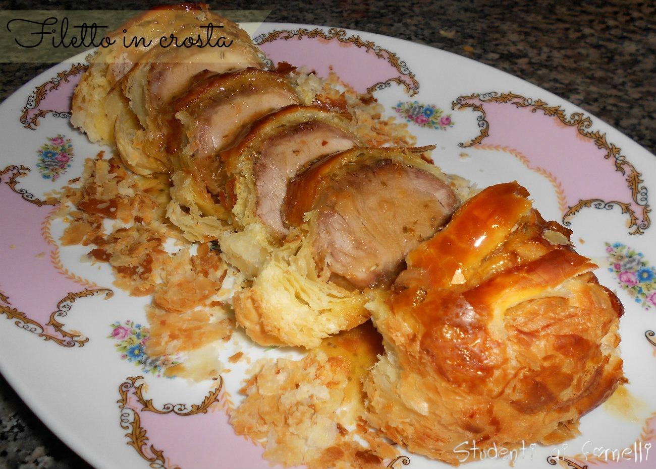 Filetto in crosta ricetta secondo piatto di effetto for Secondi piatti ricette