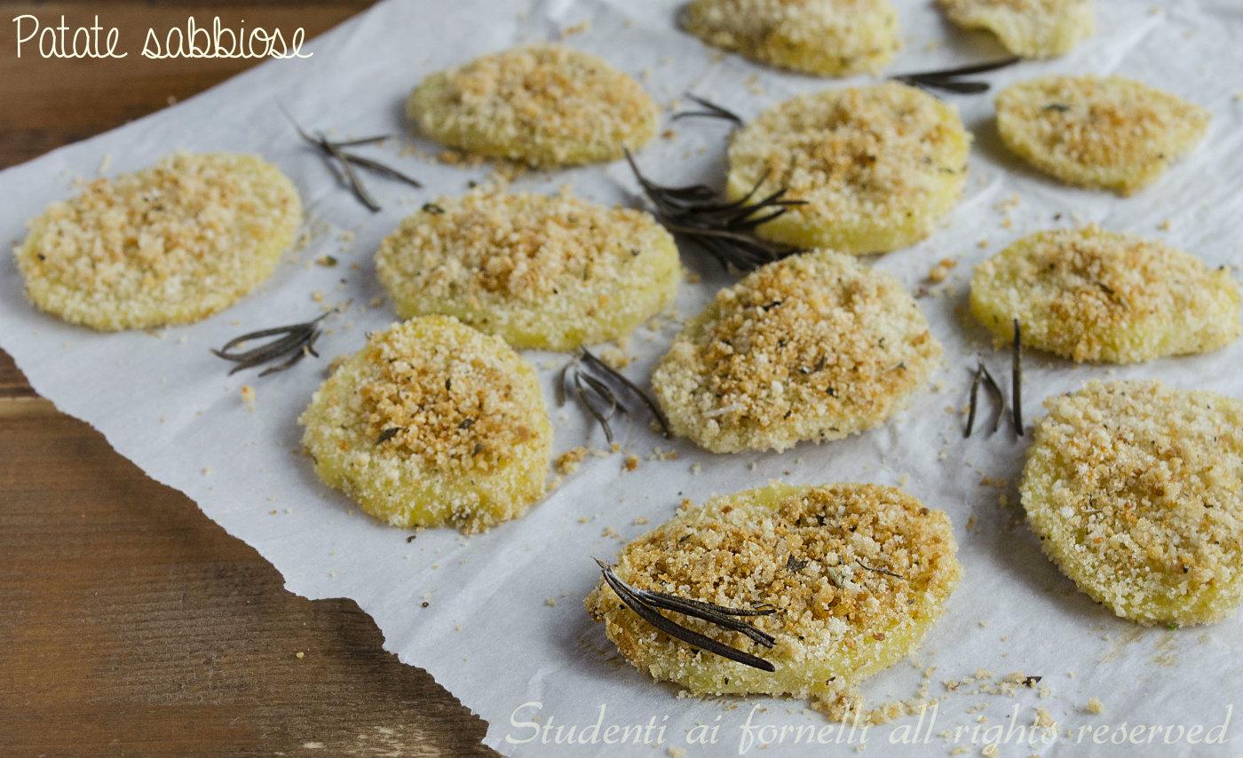 patate sabbiose al forno con spezie e pangrattato ricetta patate sfiziose