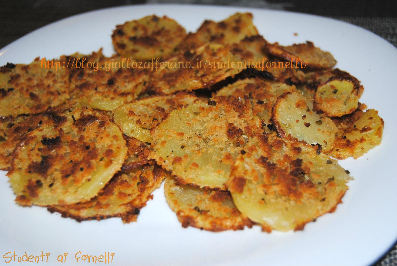Patate sabbiose al forno ricetta contorno veloce cena for Ricette veloci secondi piatti