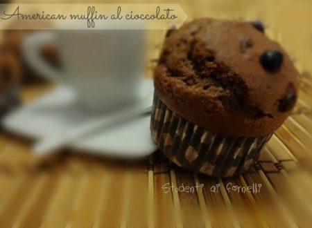 American Muffin al cioccolato