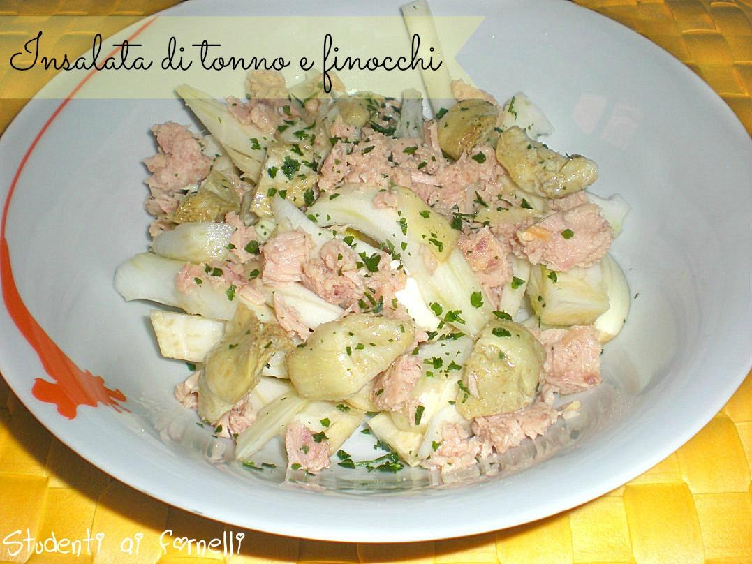 insalata di tonno e finocchi ricetta contorno fresco