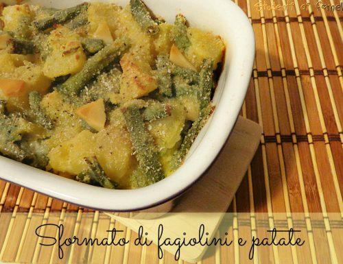 Sformato di fagiolini e patate