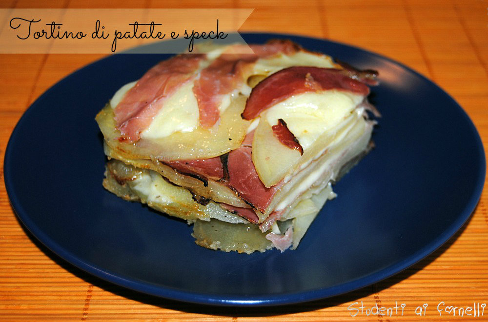 tortino di patate e speck ricetta con patate