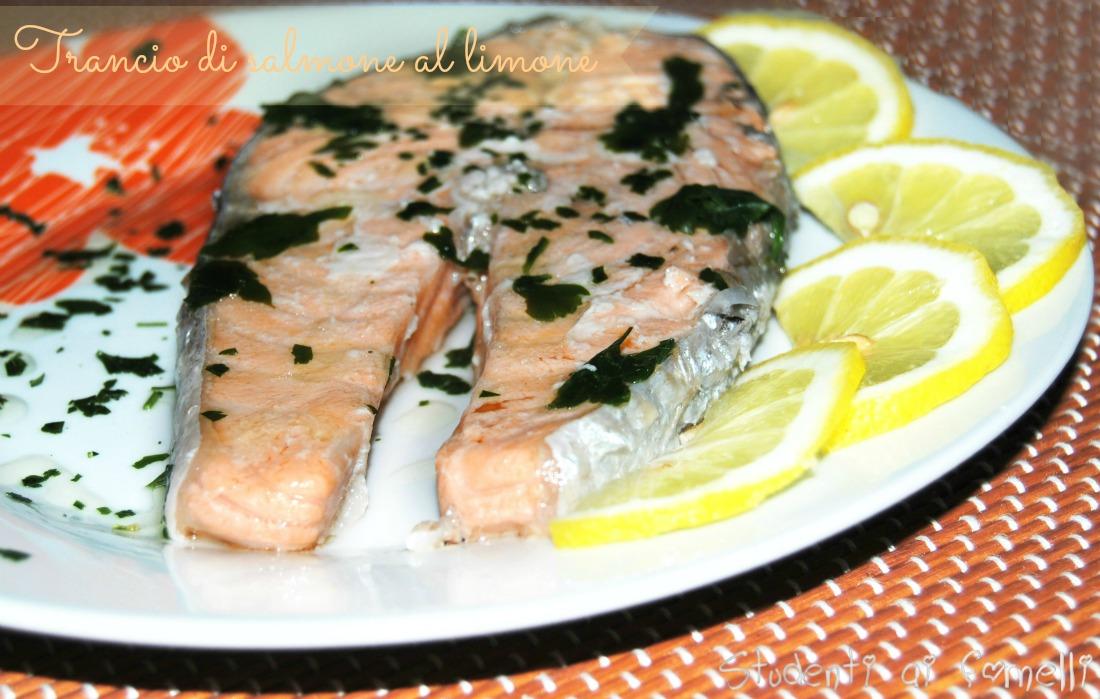 Trancio Di Salmone Al Limone Ricetta Secondo Light Ricetta Salmone