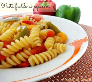 pasta fredda ai peperoni ricetta primo piatto estivo
