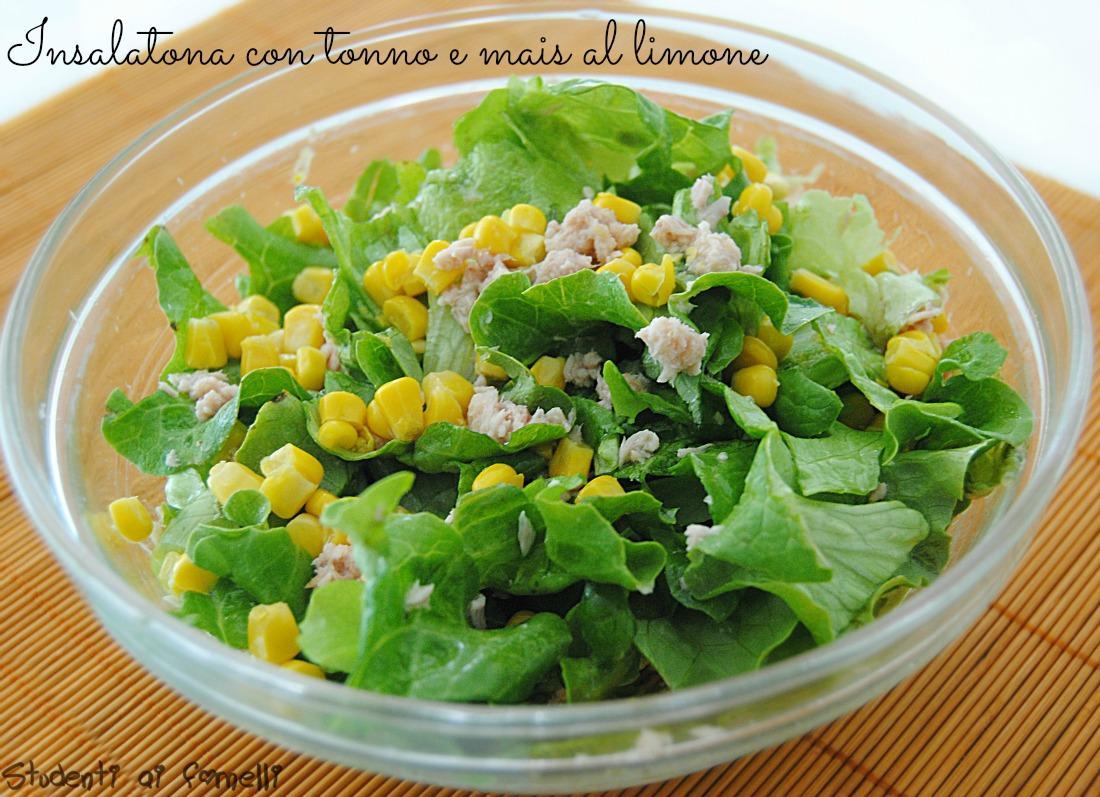 insalatona con tonno e mais al limone ricetta insalata estiva