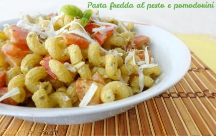 pasta fredda pesto e pomodorini ricetta insalata di pasta estiva