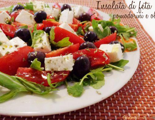 Insalata di feta pomodorini e olive