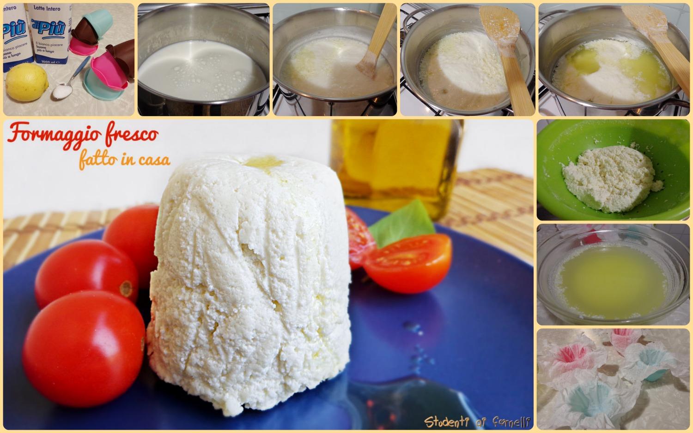 formaggio fatto in casa senza caglio ricetta passo passo semplice e veloce