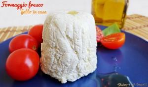 formaggio fresco senza caglio fatto in casa ricetta facile e veloce