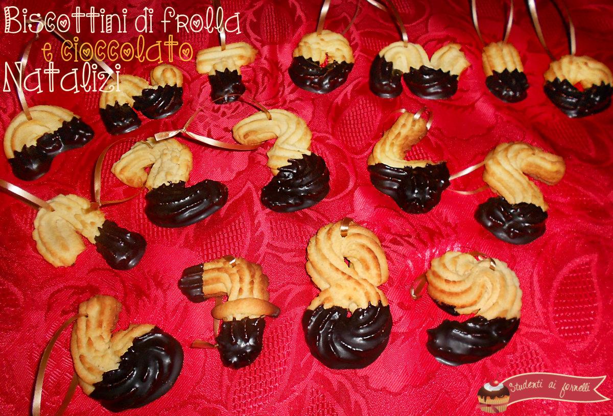 biscottini natalizi di frolla e cioccolato ricetta per bambini lettere e numeri al cioccolato