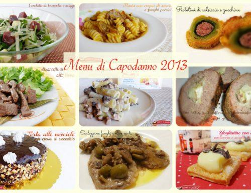 Capodanno 2013 ricette a base di carne