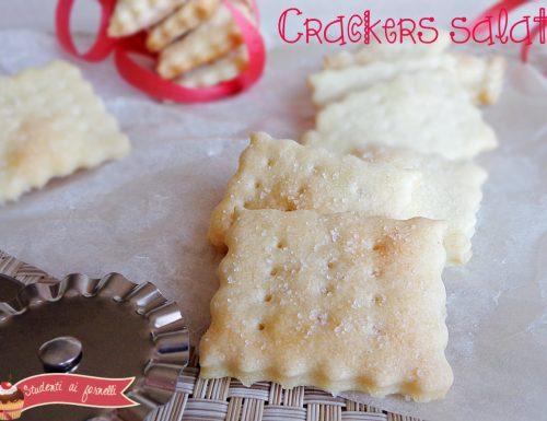 Crackers salati con lievito madre