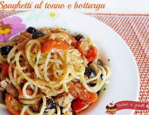 Spaghetti al tonno e bottarga